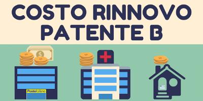 Costo rinnovo patente B