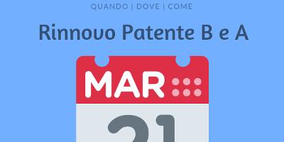 Rinnovo patente b