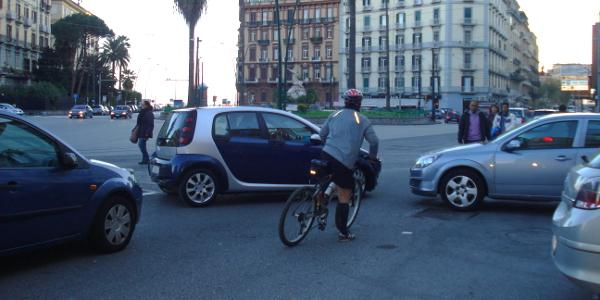 Rischi derivanti dalla presenza di ciclisti