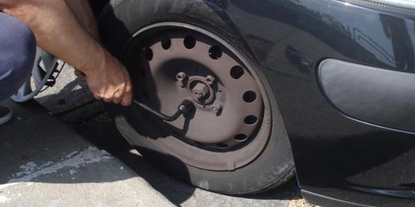 Sostituzione di una ruota