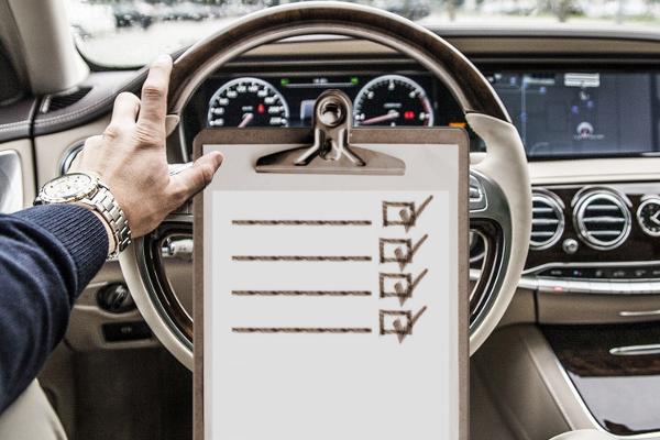 Checklist veicoli