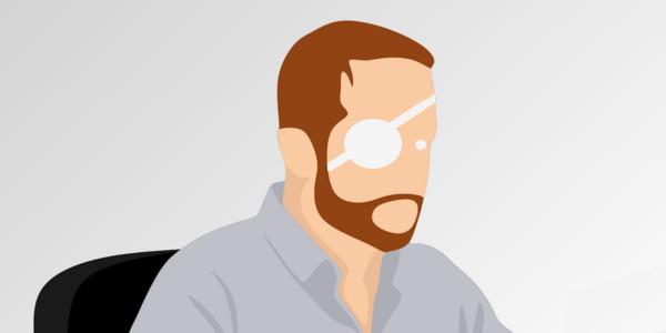 Trattamento di un ferito che presenta un corpo estraneo in un occhio