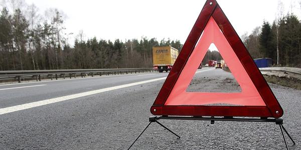 Segnale mobile triangolare di pericolo