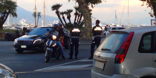 Segnalazioni da parte degli agenti del traffico