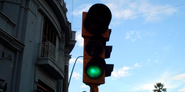Luce verde del semaforo