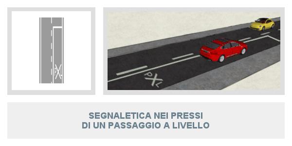 Segnaletica orizzontale lezione 2 sui segnali stradali for Planimetrie domestiche di un livello
